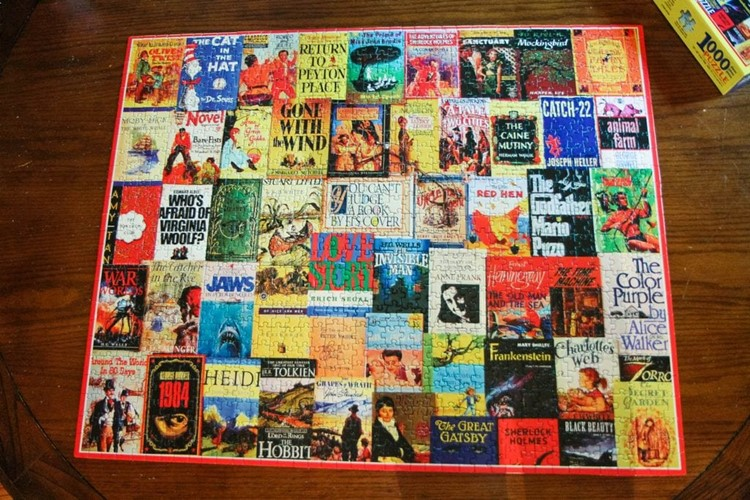 Book Cover Puzzle