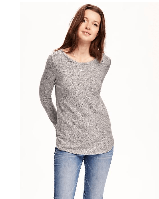 Old Navy Brushed Fleece T-Shirt