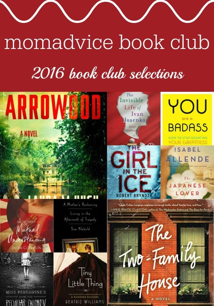MomAdvice 2106 Book Club Selections