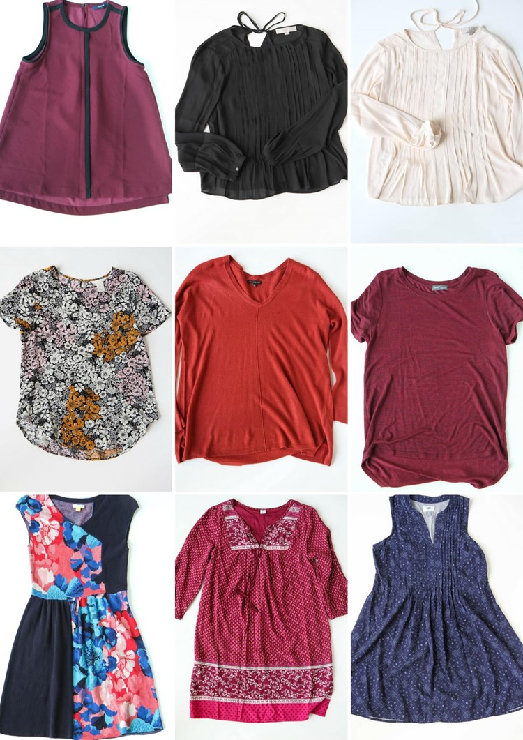 Fall/Winter 2106 Fashion Capsule Wardrobe from MomAdvice.com