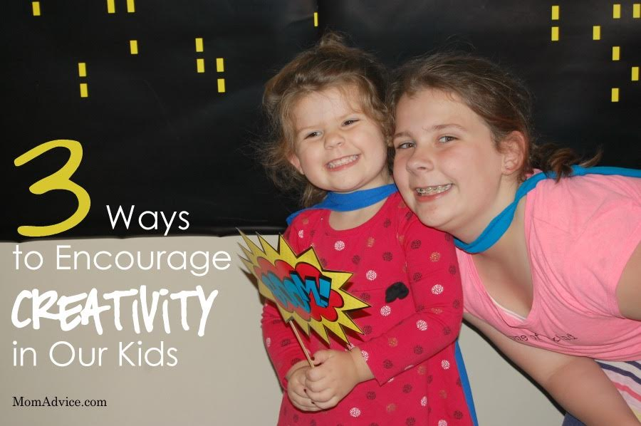3 Ways to Encourage Creativity in Our Kids from MomAdvice.com