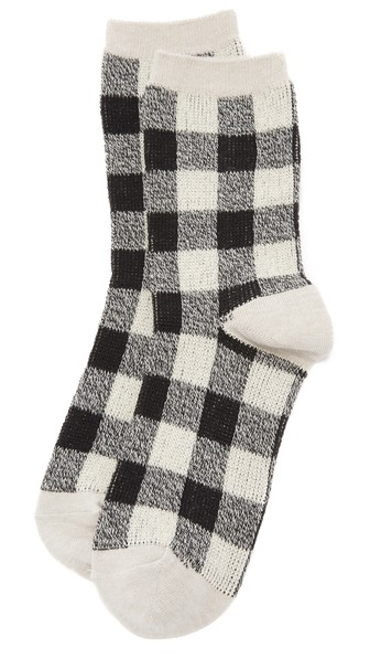 Buffalo Checked Socks