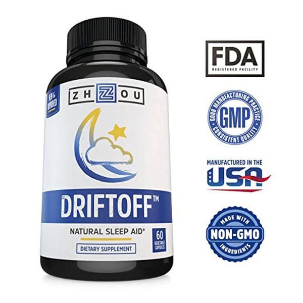 Driftoff Natural Sleep Aid
