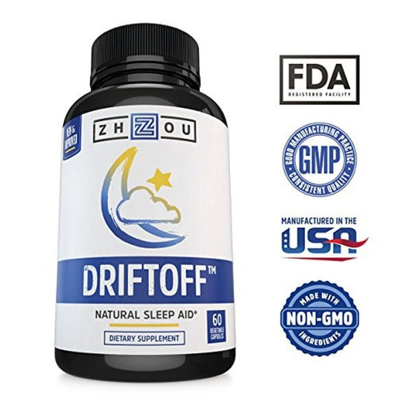 Driftoff Natural Sleep Aid