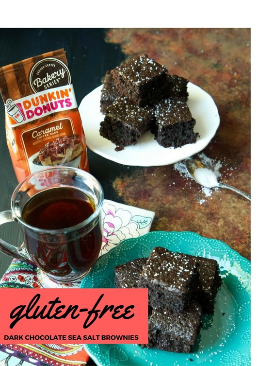 Gluten-Free Dark Chocolate Sea Salt Brownies