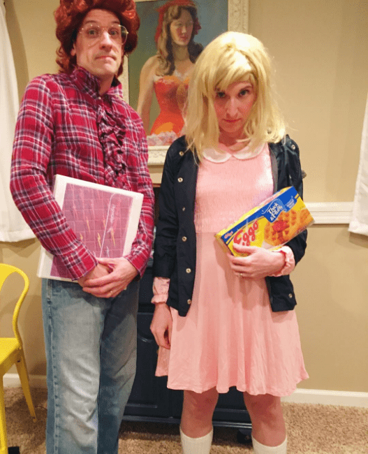 Stranger Things Couple's Costume