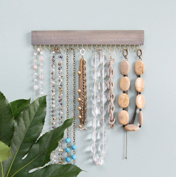Driftwood Jewelry Organizer