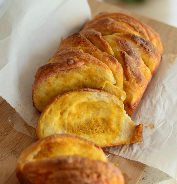 Pumpkin Butter Pull-Apart Bread