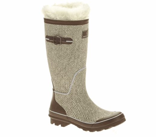 Rubber Boots With Removable Liner