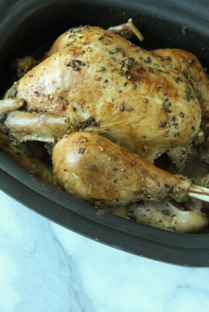 Slow Cooker Thanksgiving Turkey from MomAdvice.com