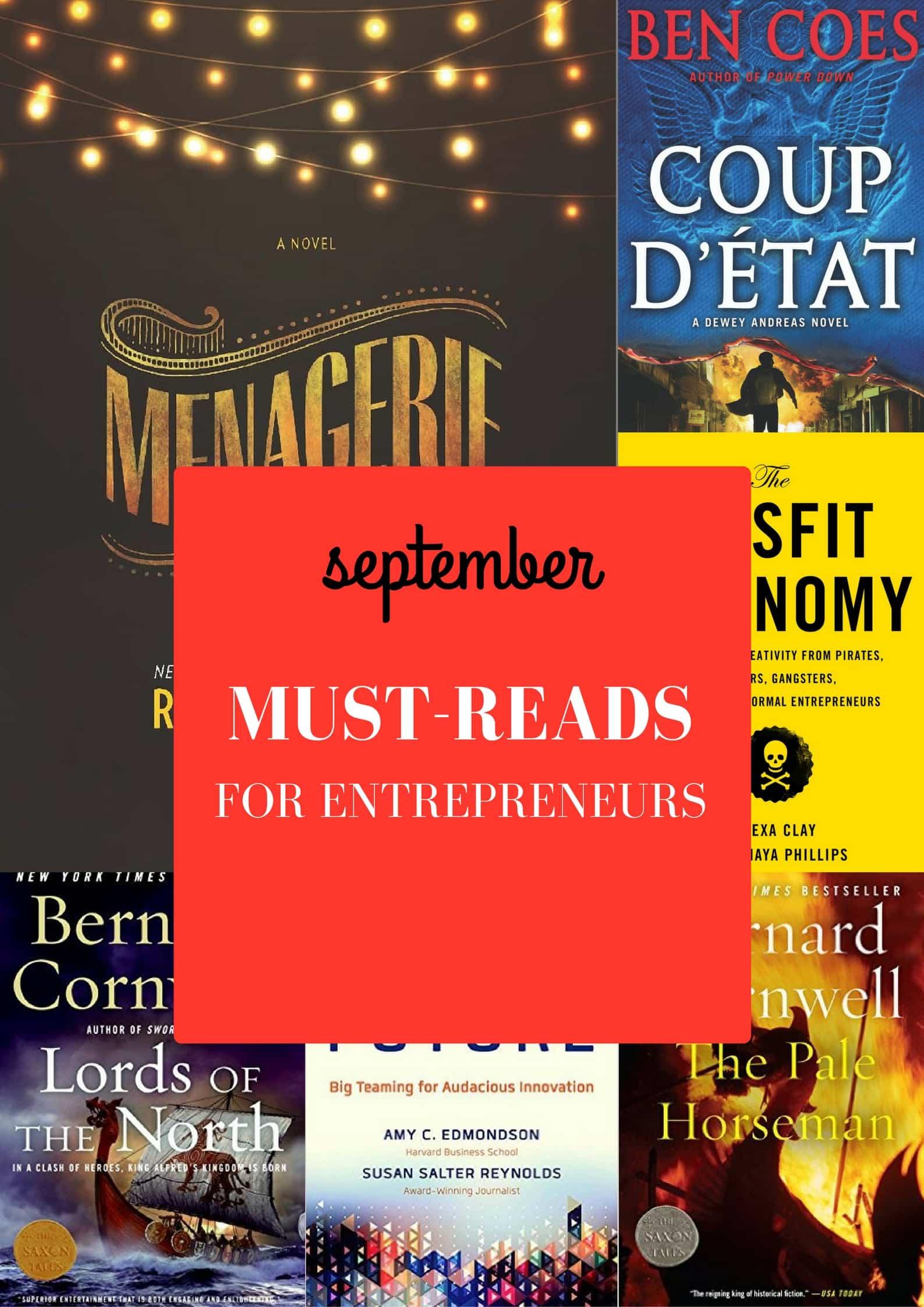 The Reading Life of an Entrepreneur: September Must-Reads