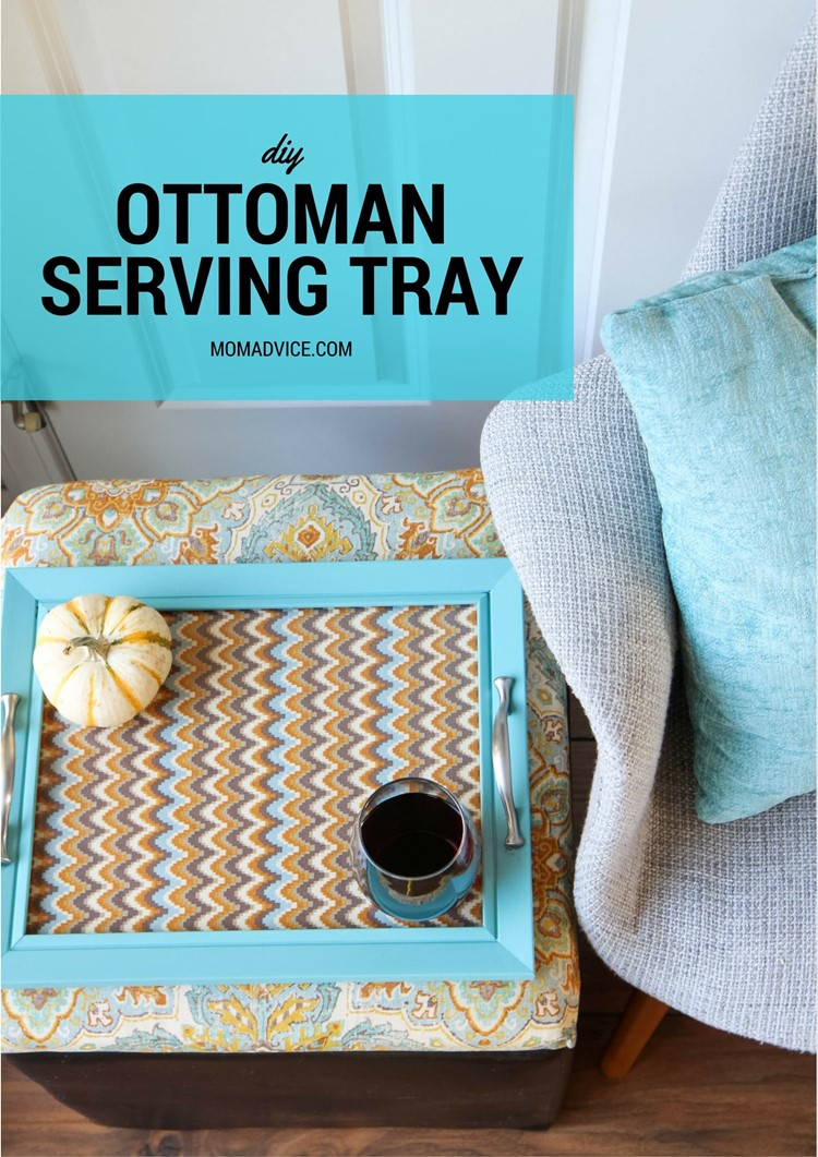 Wondrous Diy Ottoman Serving Tray Momadvice Ibusinesslaw Wood Chair Design Ideas Ibusinesslaworg