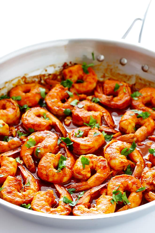 Peruvian Shrimp Recipe