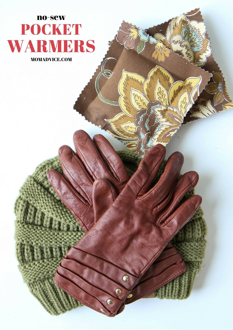 DIY No-Sew Hand Warmers from MomAdvice.com