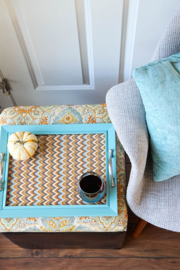 DIY Ottoman Serving Tray from MomAdvice.com