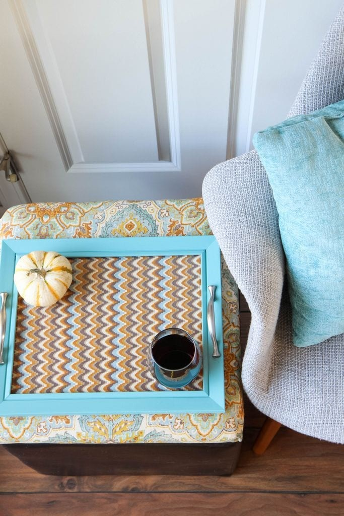 Diy Ottoman Serving Tray