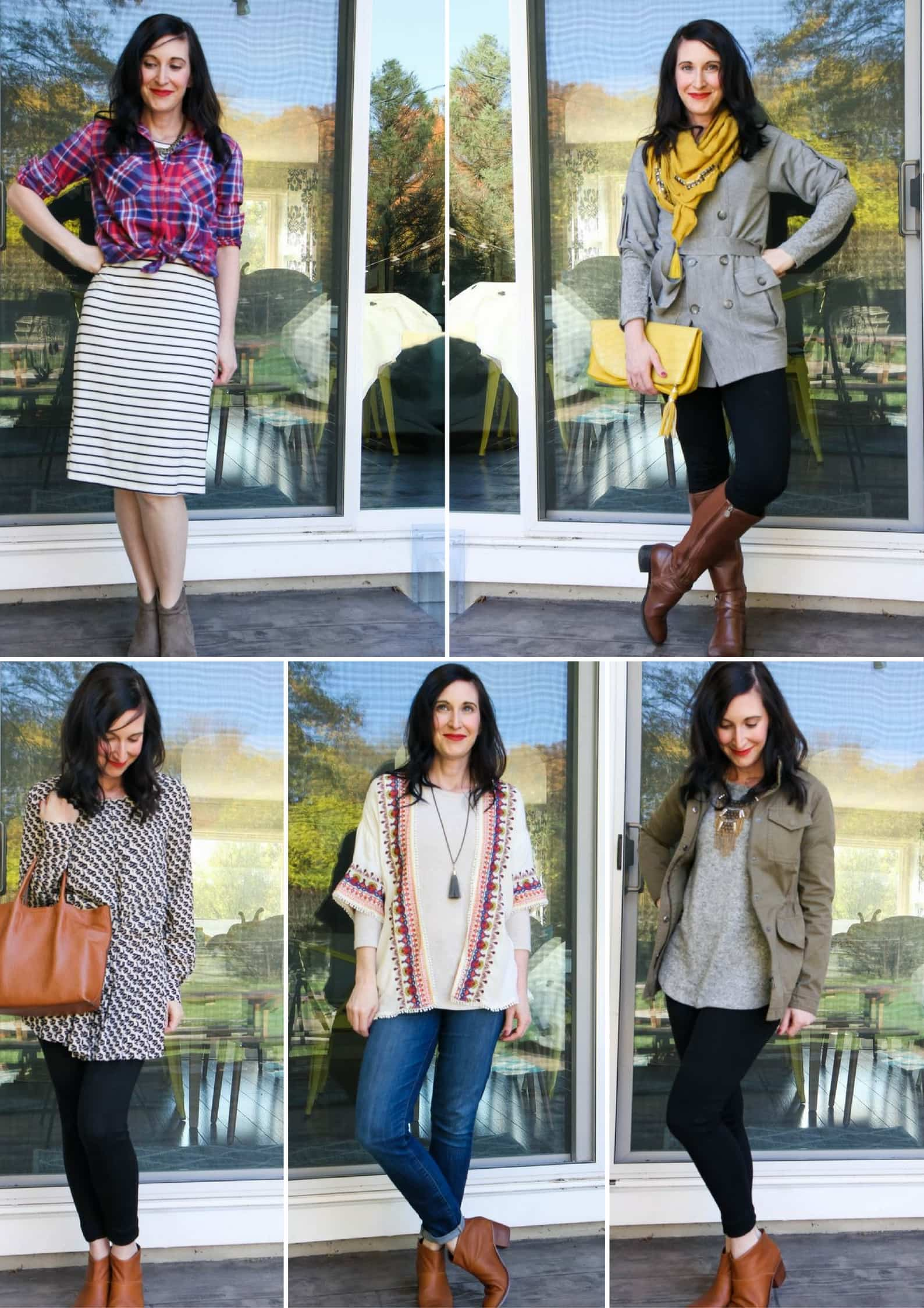 Fall Capsule Wardrobe Ideas from MomAdvice.com