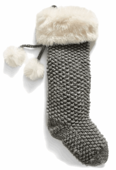Faux Fur Stocking