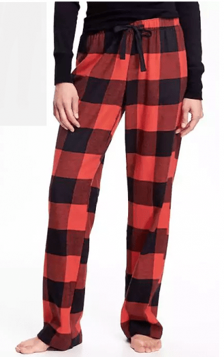 flannel-drawstring-pants
