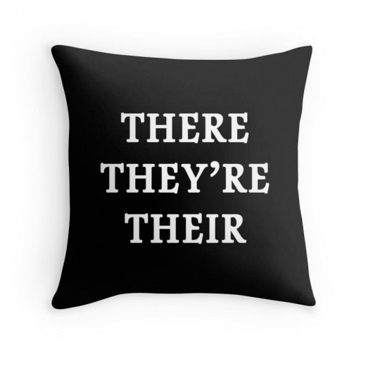 Grammar Pillow