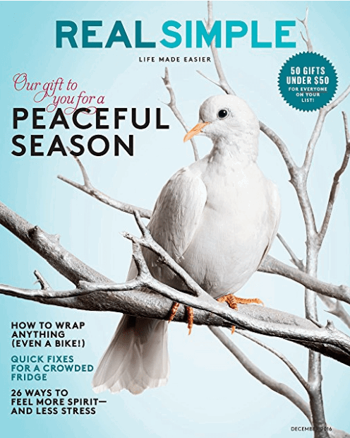 Real Simple Magazine $5 for a Year (and more book deals!!)