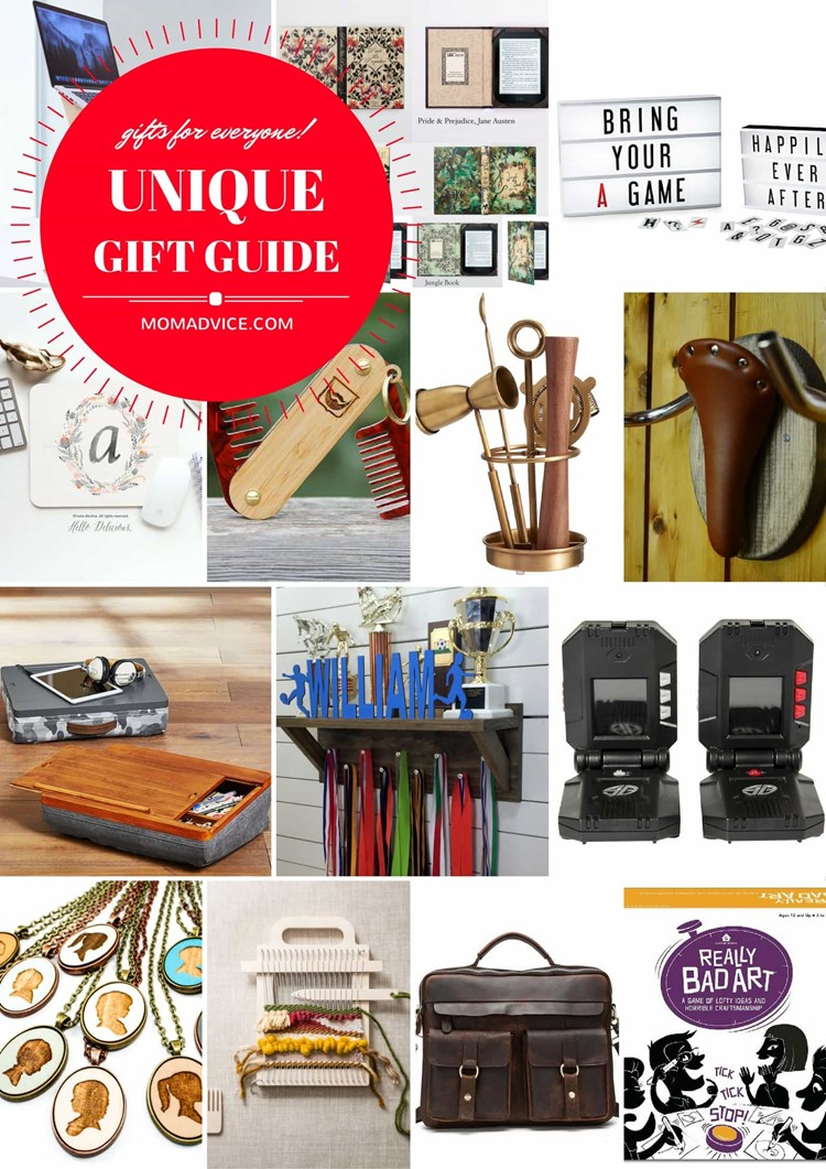 MomAdvice Unique Holiday Gift Guide