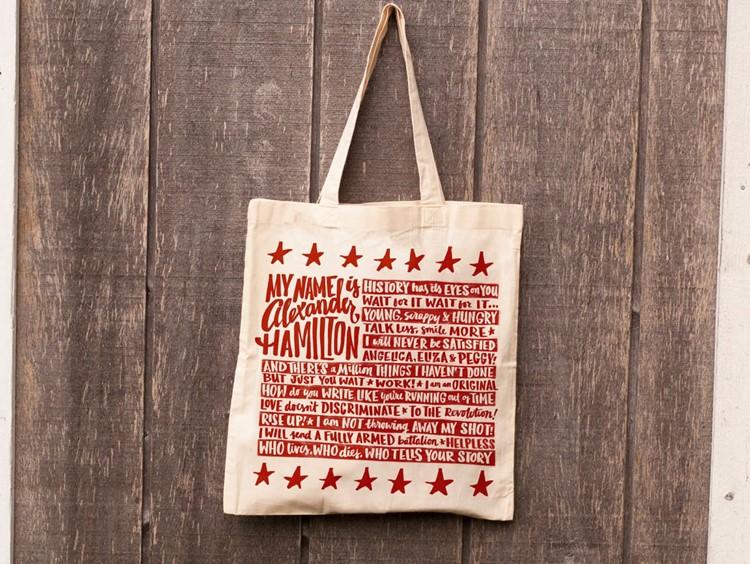 alexander hamilton book bag
