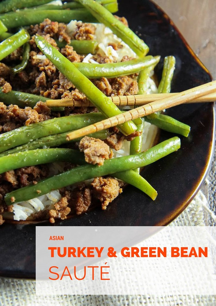 asian-turkey-and-green-bean-saute