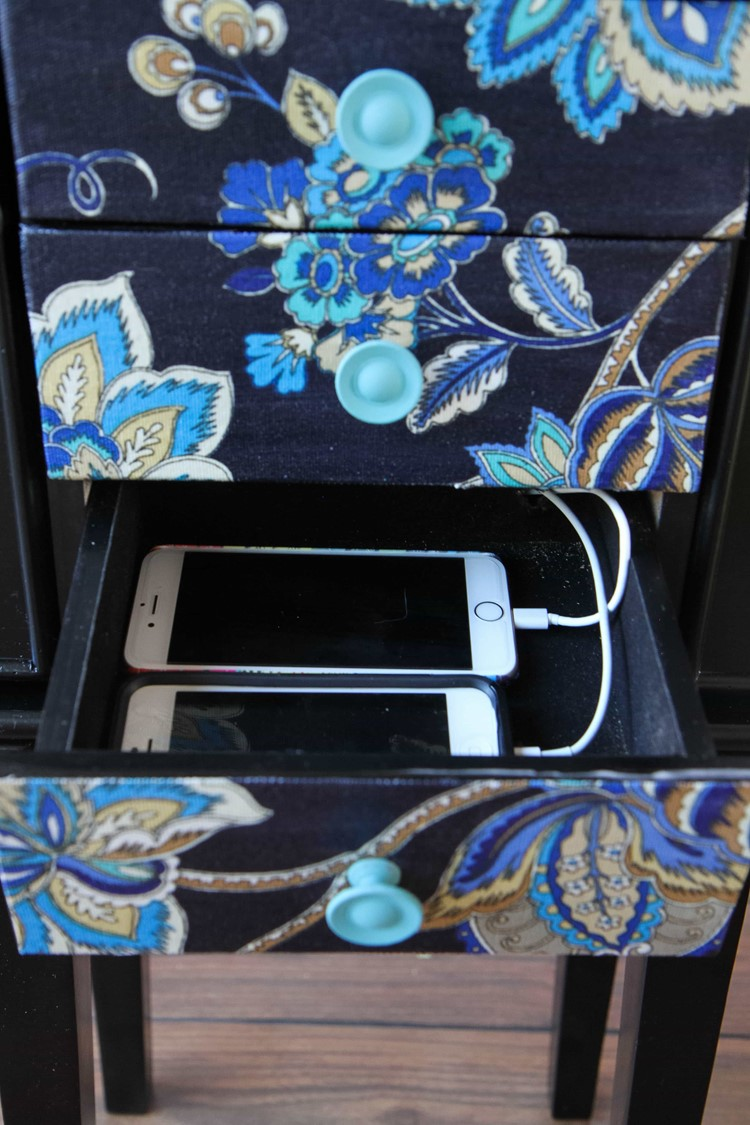 DIY Phone Charging Station from MomAdvice.com