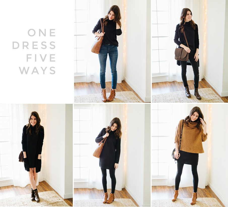 One Dress Five Ways