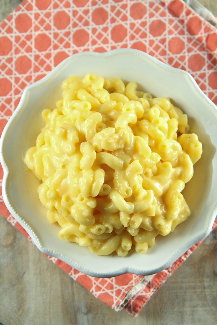 One-Pot Gluten-Free Macaroni and Cheese from MomAdvice.com