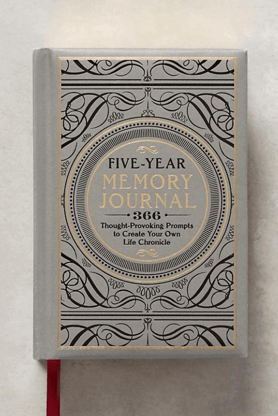 5-year memory journal