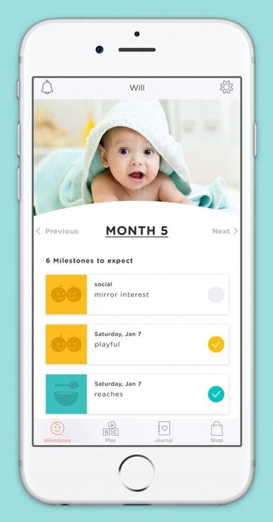 WeeSchool App Milestones Month by Month