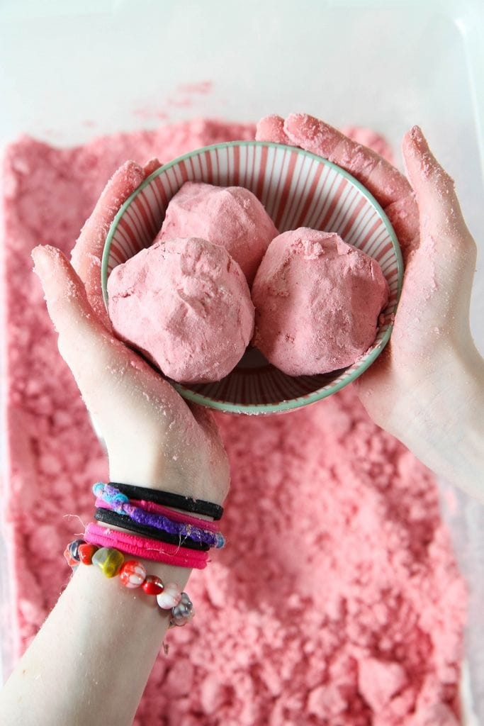 3-Ingredient Cloud Dough from MomAdvice.com