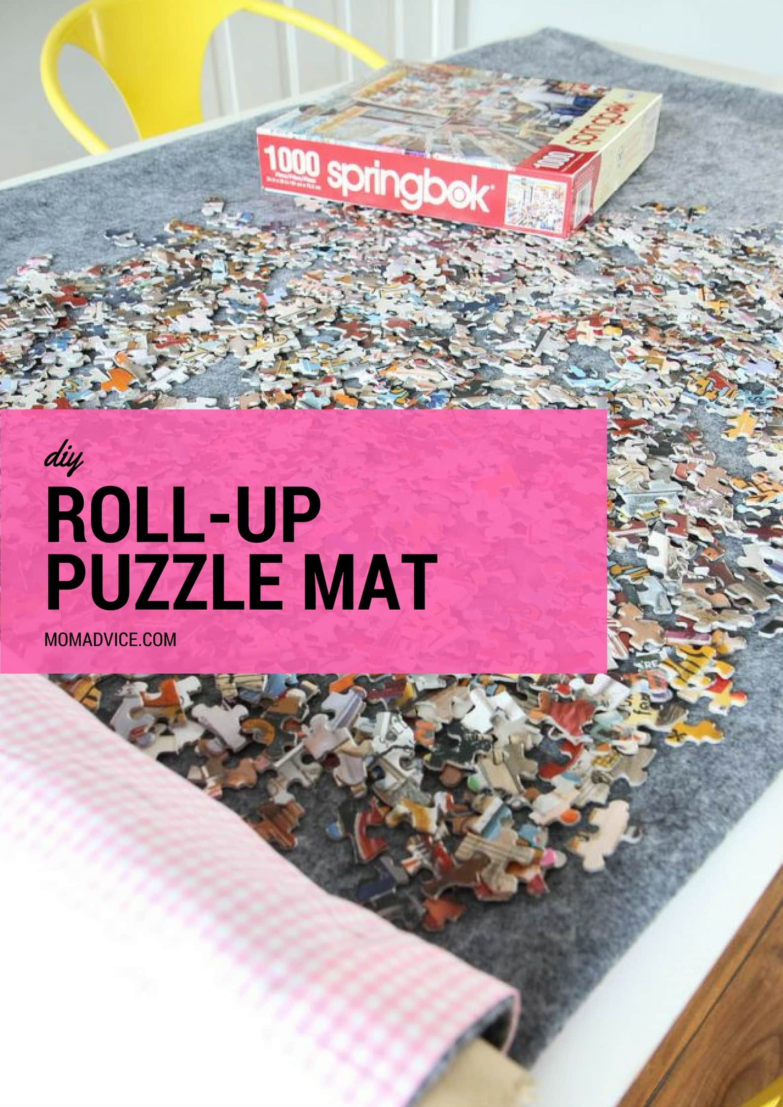 DIY Roll-up Puzzle Mat