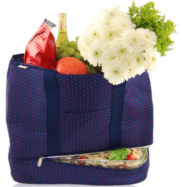 insulated party tote