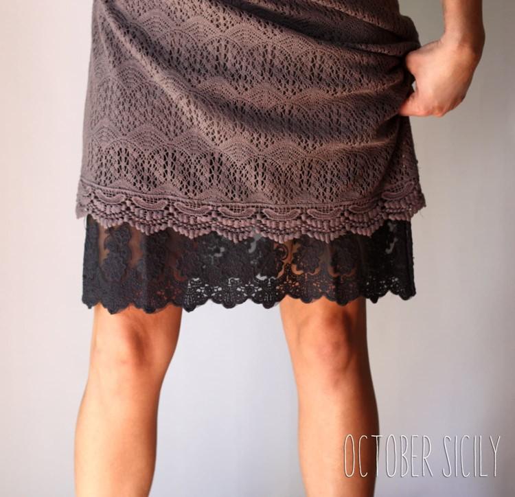 Lace Slip Skirt/Dress Extender