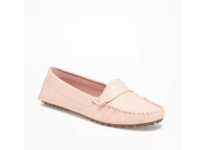 Blush Driving Loafers
