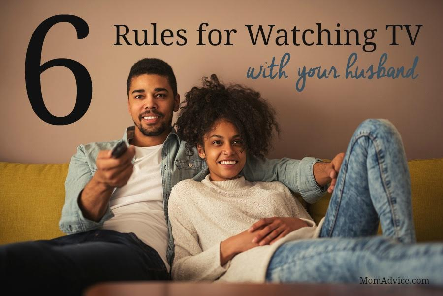 6 Rules for Watching TV With Your Husband from MomAdvice.com