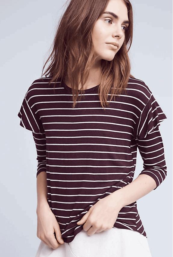 binney striped top