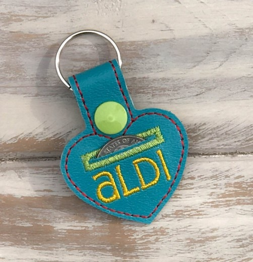 ALDI Quarter Holder