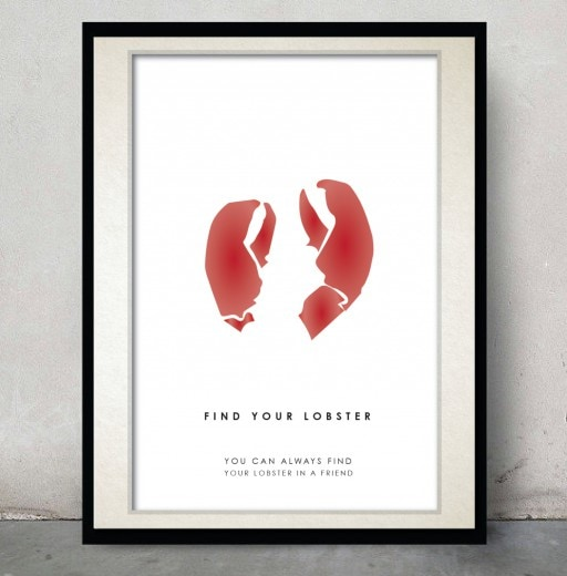 Find Your Lobster Print