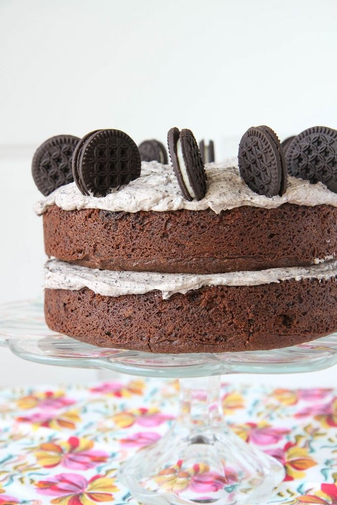 Gluten-Free Cookies and Cream Cake from MomAdvice.com