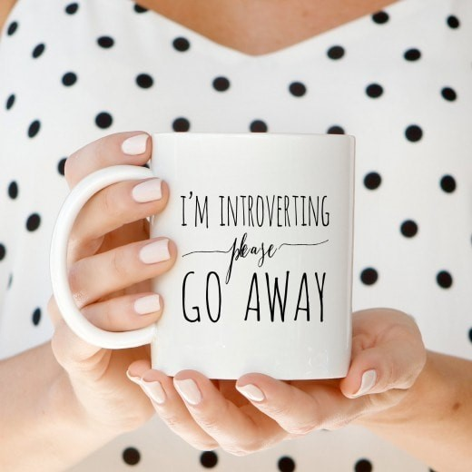 Introverting Mug