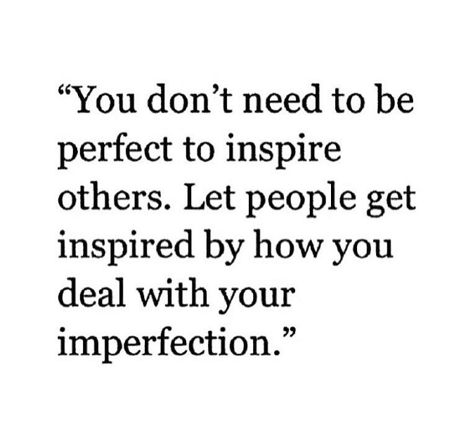 Imperfection Quote