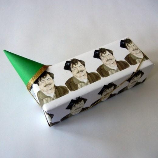 Ron Swanson Gift Wrap