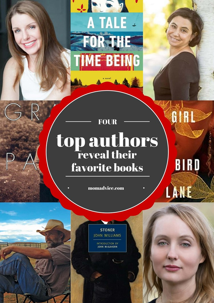 4 Top Authors Share Their Favorite Reads from MomAdvice.com