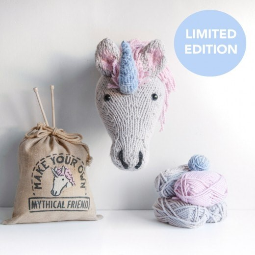 Unicorn Knitting Kit