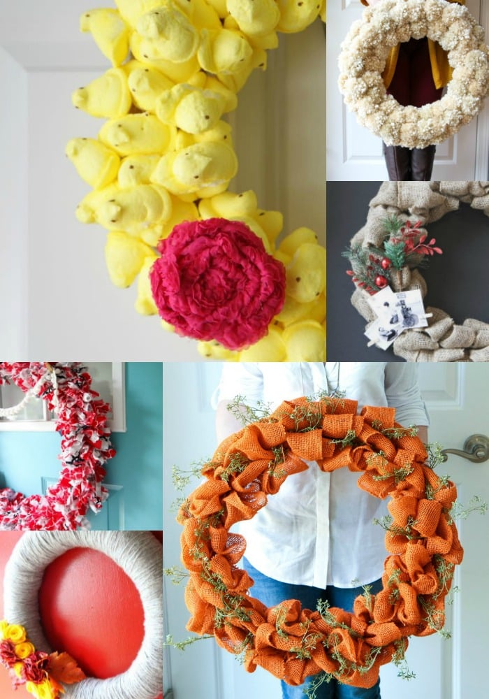 Fun Wreath Ideas from MomAdvice.com