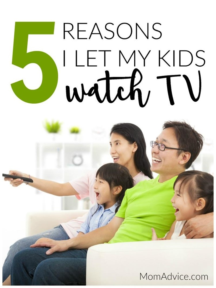 5 Reasons I Let My Kids Watch TV MomAdvice.com